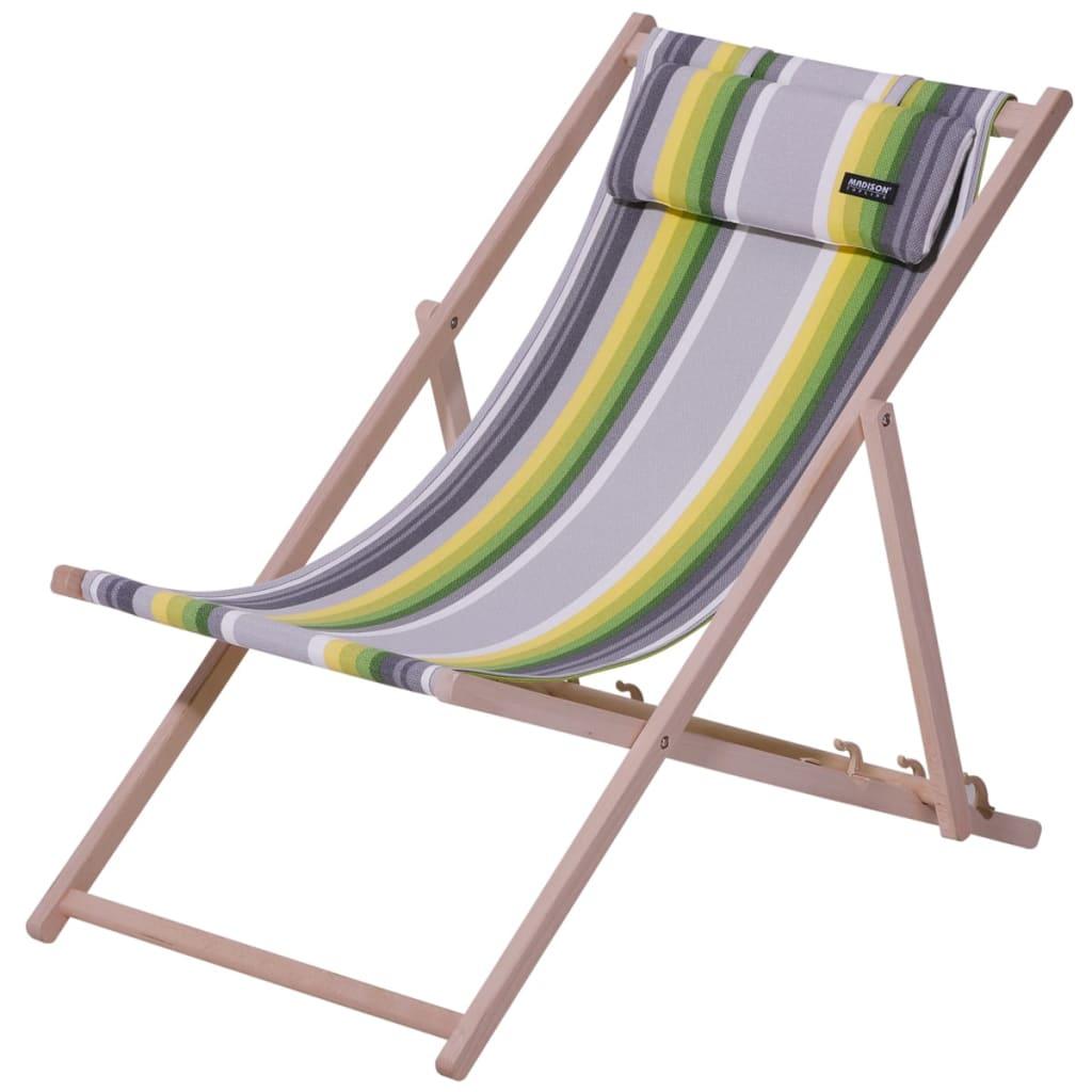 Madison Krzesło plażowe Guatamala, drewniane, CHAFO068