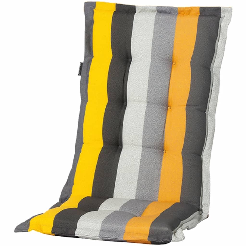 Madison Poduszka na krzesło Victoria, 105 x 50 cm, żółta, MONLF310