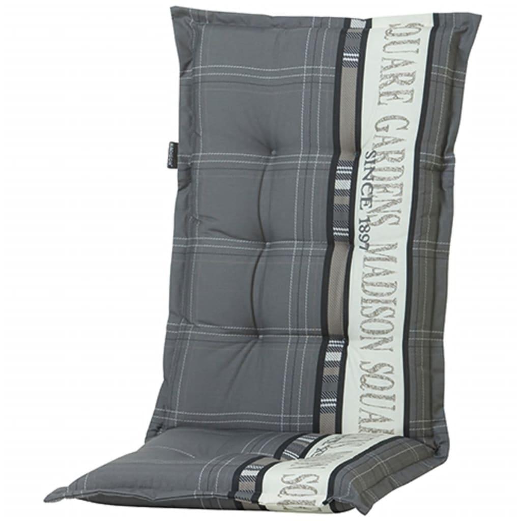 Madison Poduszka na krzesło Garden, 123 x 50 cm, szara, PHOSA056