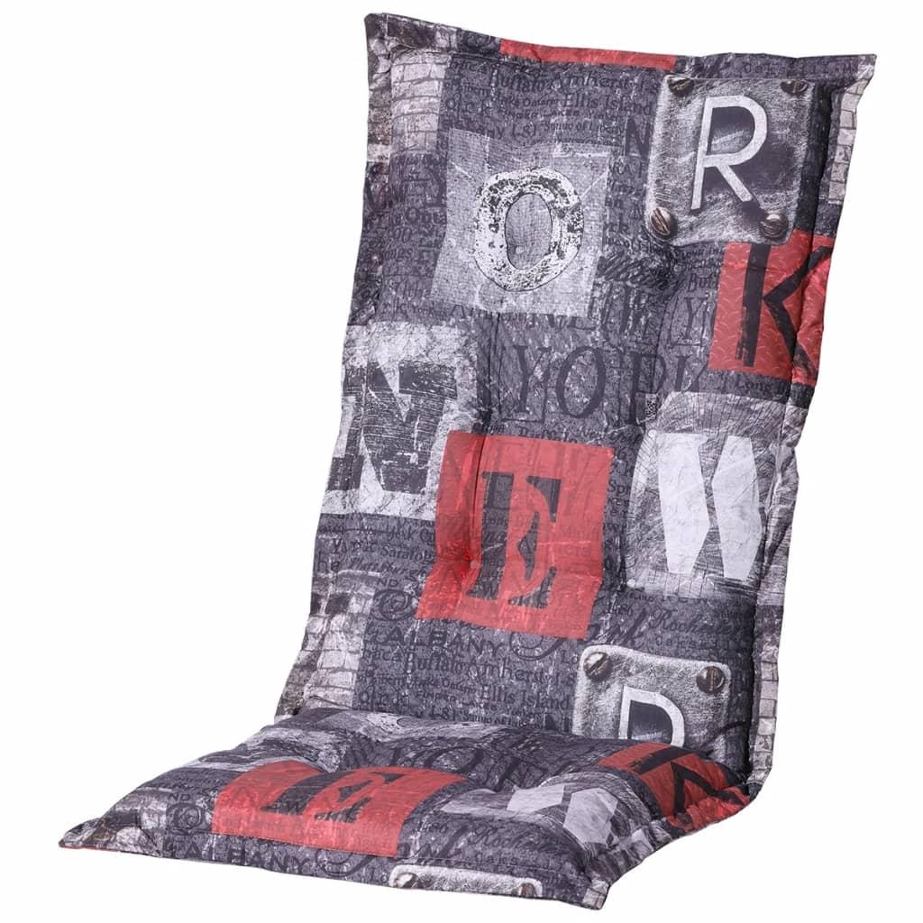 Madison Poduszka na krzesło New York, 123x50 cm, czerwona, PHOSB319
