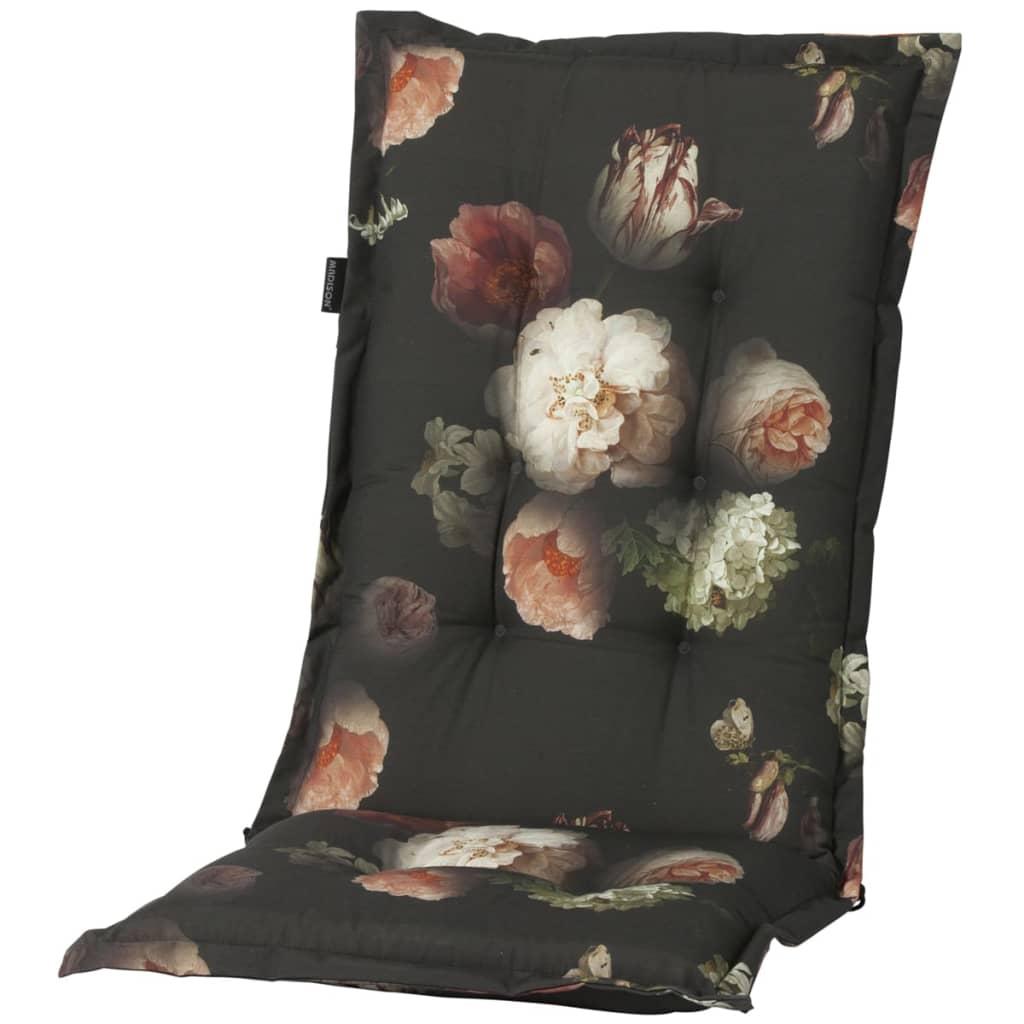 Madison Poduszka na krzesło Dark Flower, 123 x 50 cm, PHOSF323