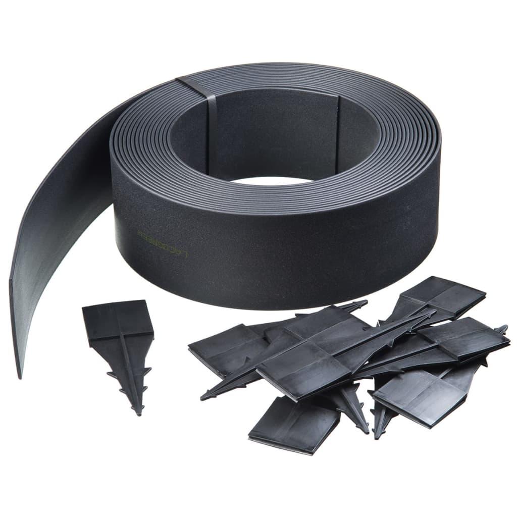 Afbeelding van Nature Tuinrand zwart 4 mm 15 m 6040608