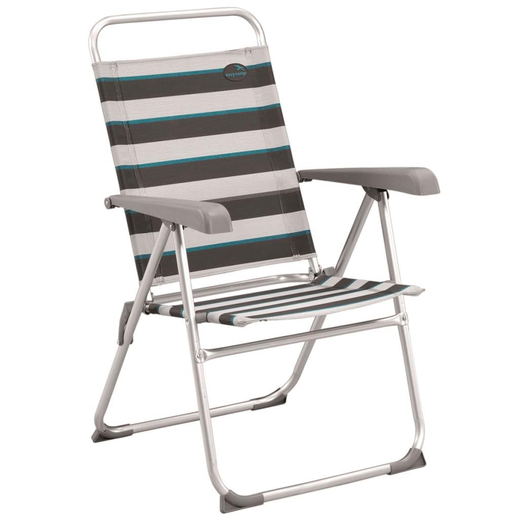 Easy Camp Krzesło turystyczne Spica, szare, 58 x 58 x 95,5 cm, 420022