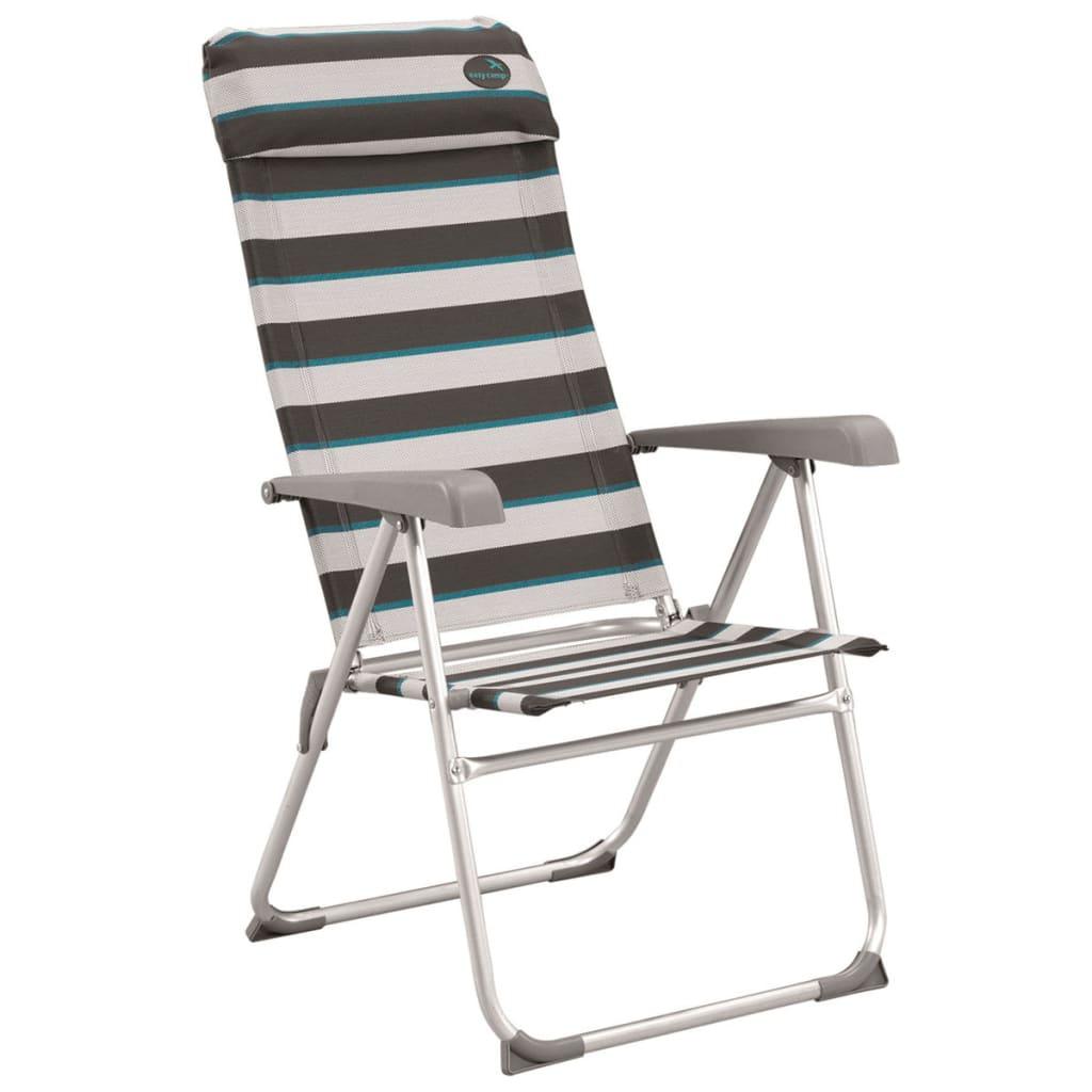 Easy Camp Krzesło turystyczne Capella, szare, 58 x 58 x 108 cm, 420023