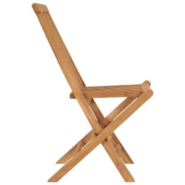 vidaXL Chaise pliable en teck 2 pcs 47 x 60 x 89 cm[4/4]