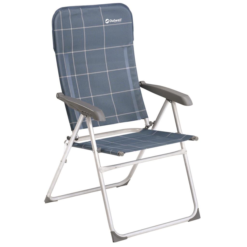 Outwell Krzesło składane, Fergus, niebieskie, 65x65x103 cm, 410066