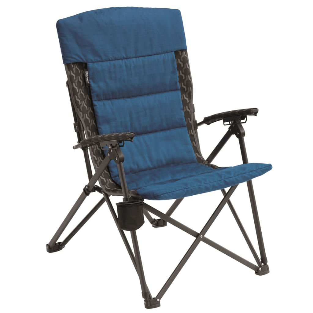 Outwell Krzesło składane Weston Hills, niebieskie, 60 x 85 108 cm