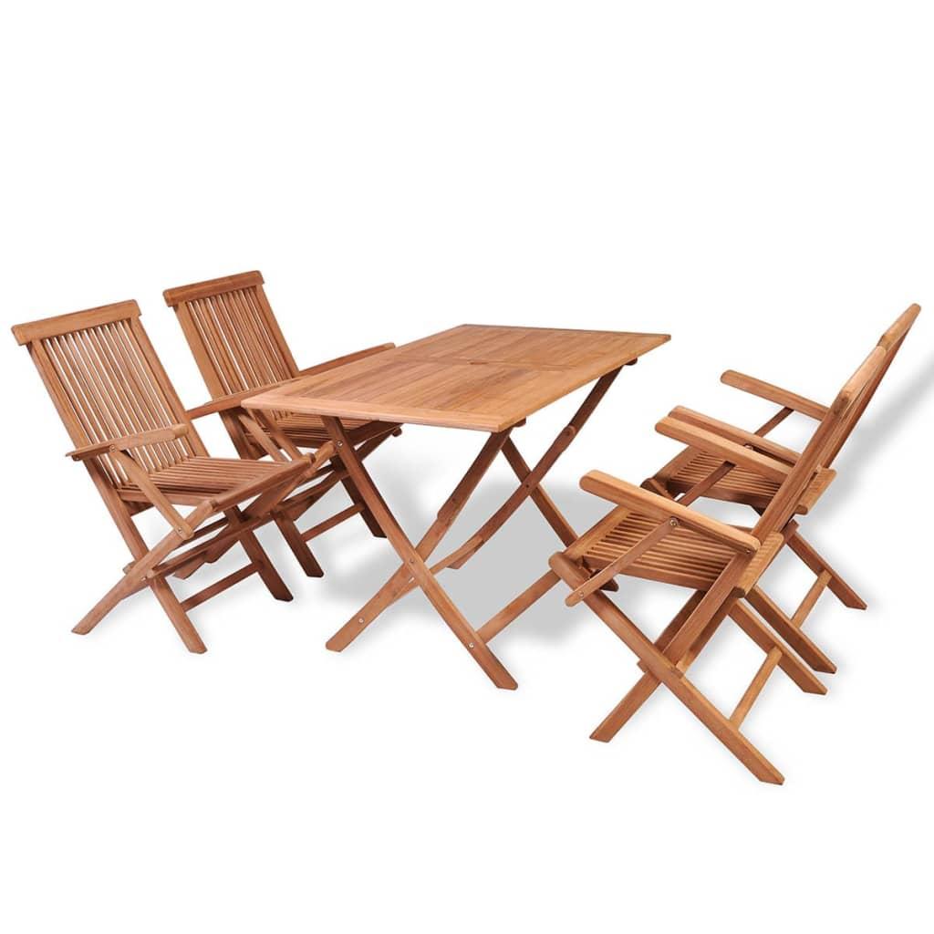 Acheter vidaxl ensemble de mobilier de salle manger cinq for Mobilier de salle a manger