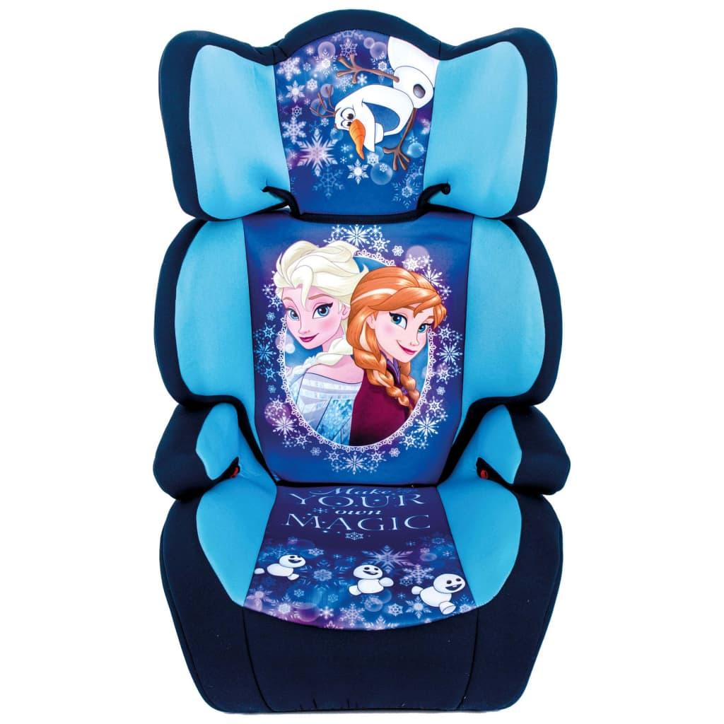 Afbeelding van Disney Autozitje Frozen 2+3 zwart en blauw AUTO234002
