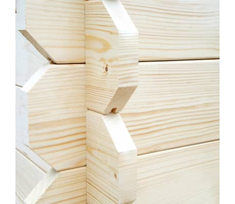 this highquality wooden shed provides ample storage space for a wide variety of tools and equipment thanks to the solid wooden frame this storage cabin