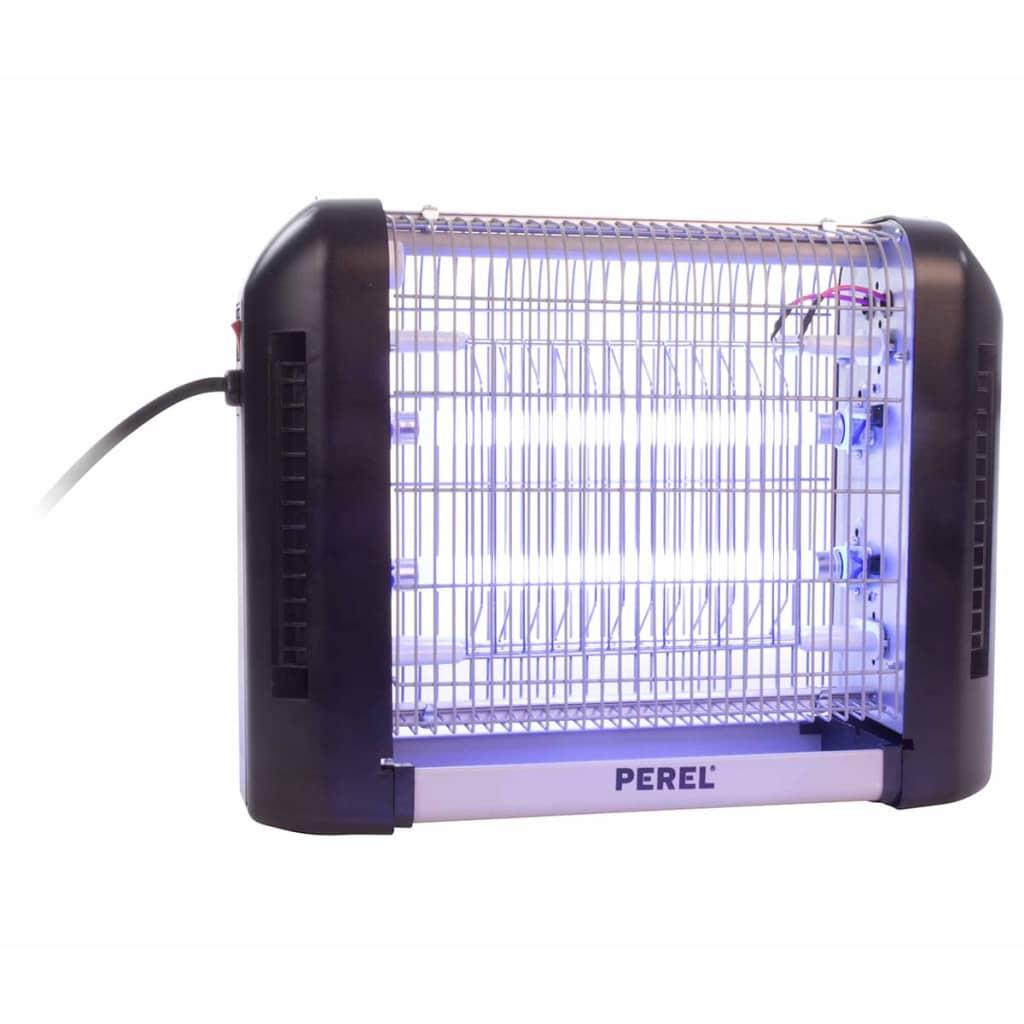 Afbeelding van Perel Insectendoder elektrisch 2x6 W paars GIK07O