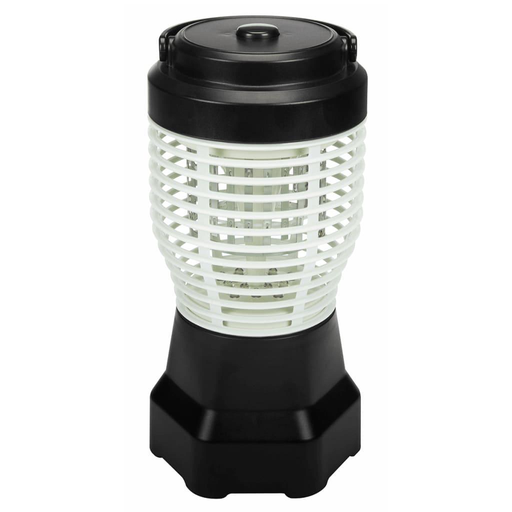 Afbeelding van Perel Insectenval en campinglamp 2-in-1 draagbaar 1,5 W GIK20