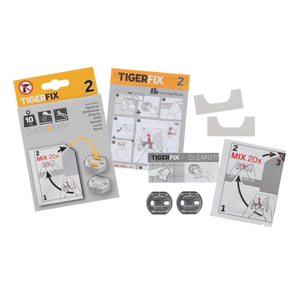 Afbeelding van Tiger Bevestigingsmateriaal Fix Type 2 metaal 398830046