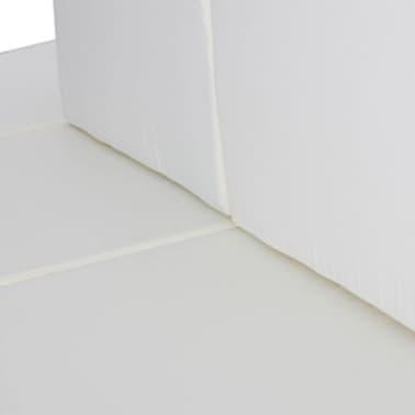 vidaXL 15 Piece Garden Lounge Set Black Poly Rattan[4/6]