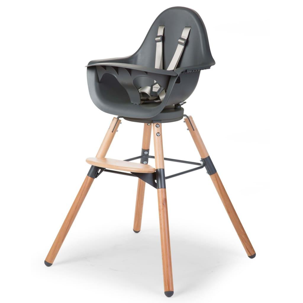 Afbeelding van CHILDWOOD Kinderstoel 2-in-1 Evolu One.80° antraciet CHEVO180NA