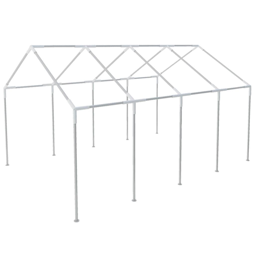 vidaXL 8x4 m acél party sátor tartóváz
