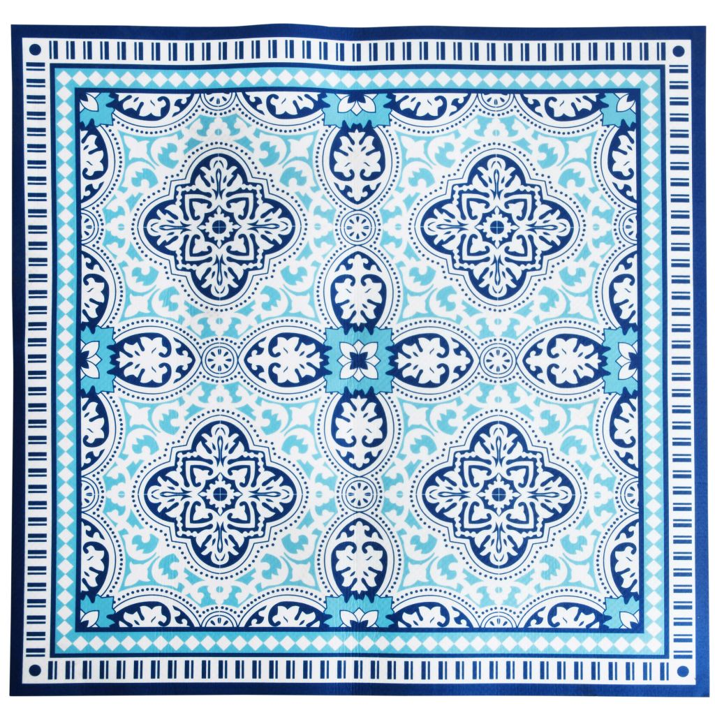 Afbeelding van Esschert Design BBQ-mat 100x100 cm FF291