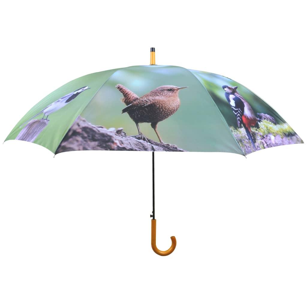 Afbeelding van Esschert Design Paraplu Birds 120 cm TP178