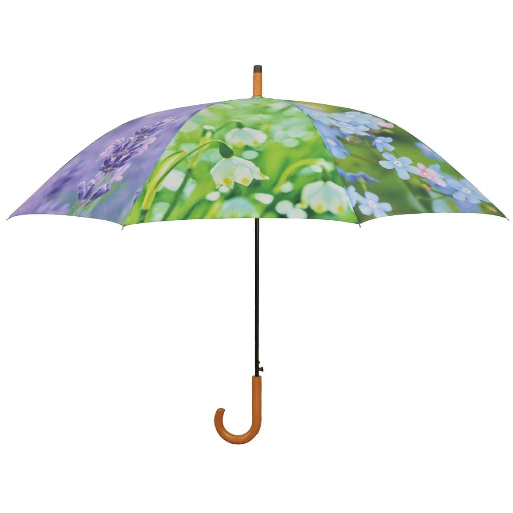 Esschert Design Regenschirm Flowers 120 cm TP210