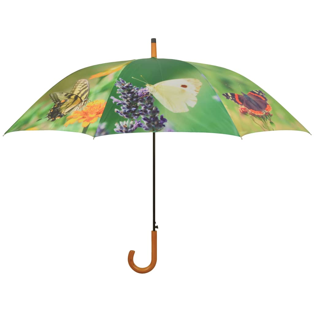 Afbeelding van Esschert Design Paraplu Butterflies 120 cm TP211