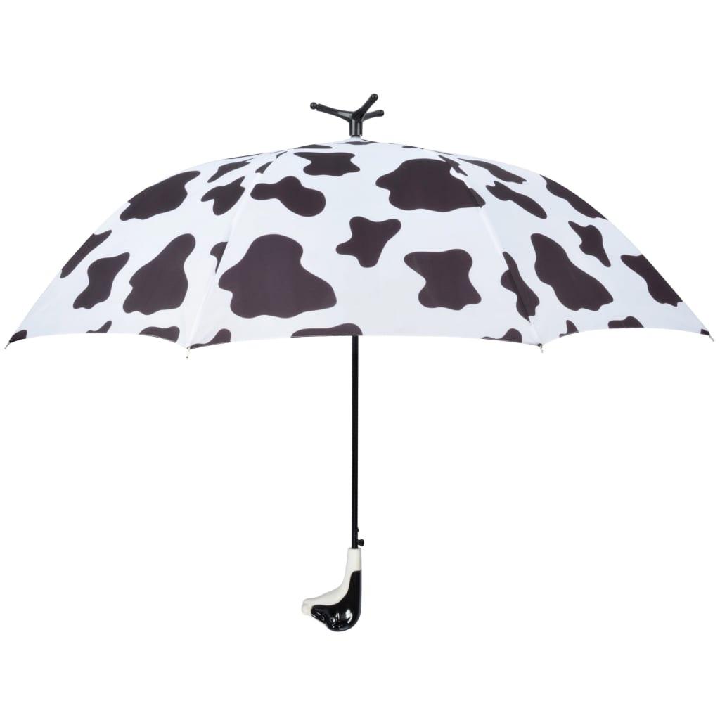 Afbeelding van Esschert Design Paraplu Cow 98 cm wit en zwart TP215