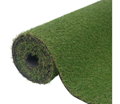 vidaXL Relva artificial 1x15 m/20-25 mm verde