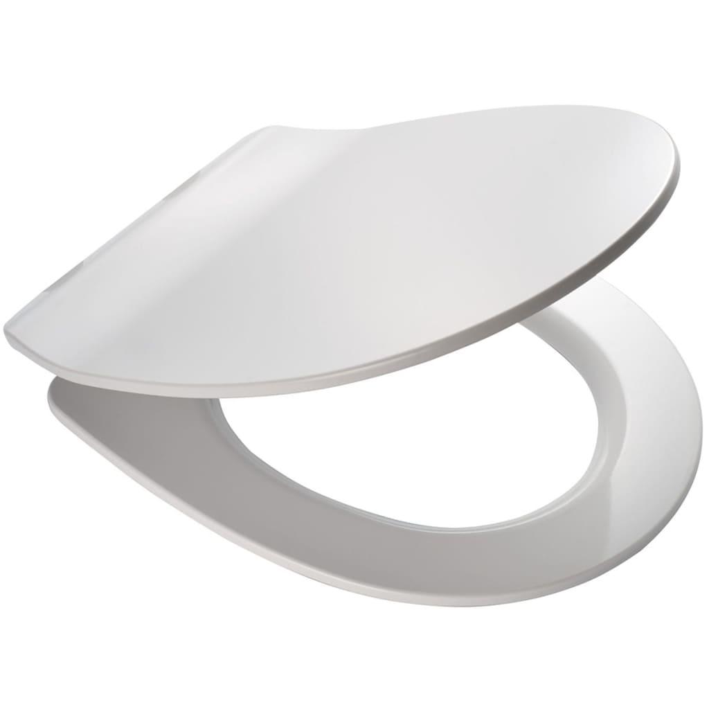 Afbeelding van RIDDER Toiletbril Las Vegas soft-close LED wit 2206101