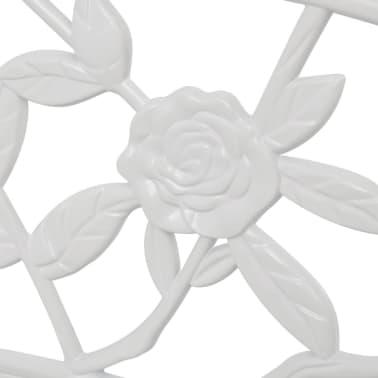 vidaXLi aiapink valge valualumiiniumist[3/4]