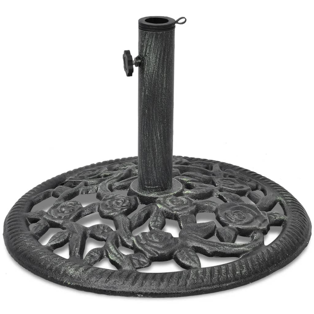 vidaXL öntött vas napernyő talp 12 kg 48 cm