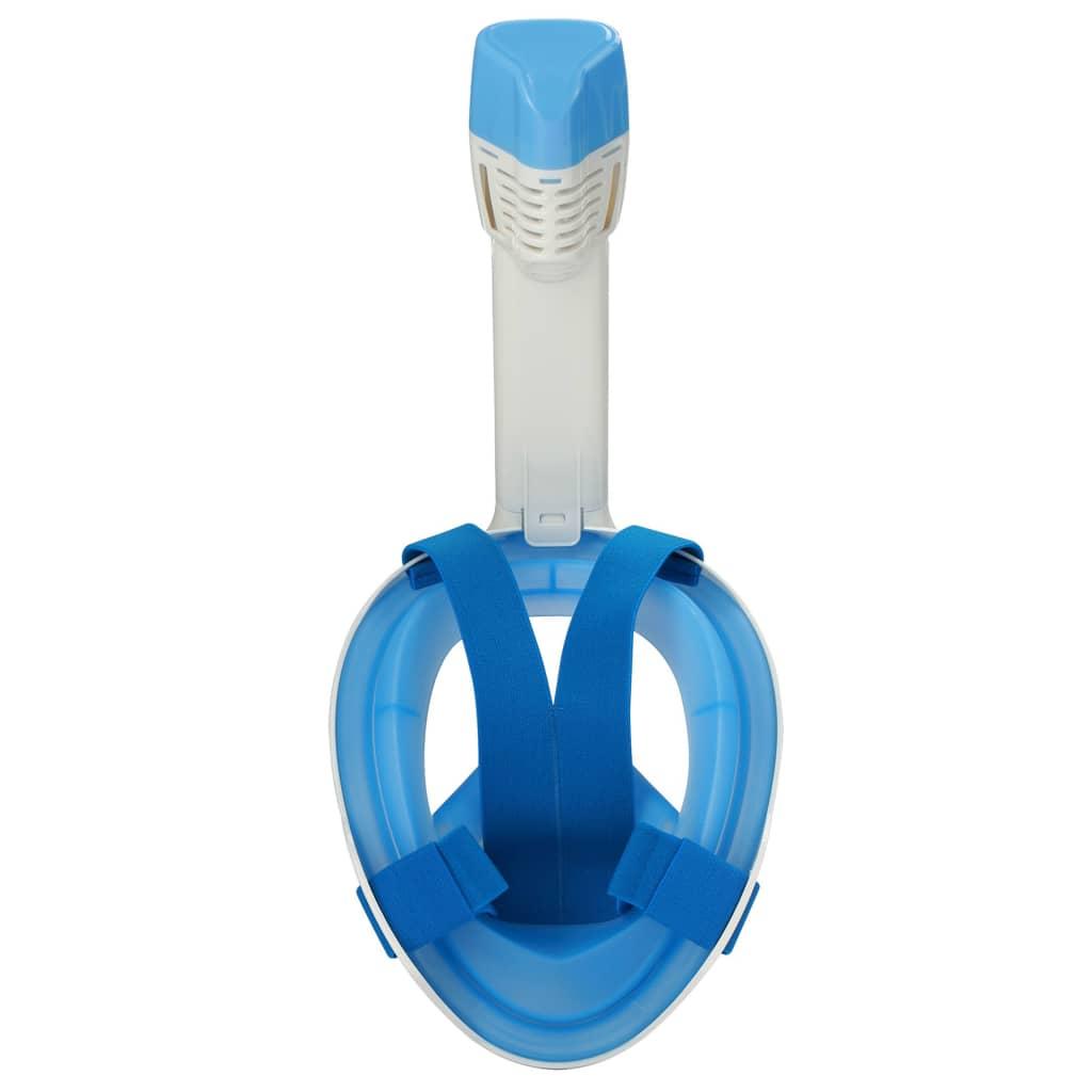 SportX Schnorchelmaske Blau Größe Größe Blau S/M Vollmaske Tauchermaske Taucherbrille 1a3eba