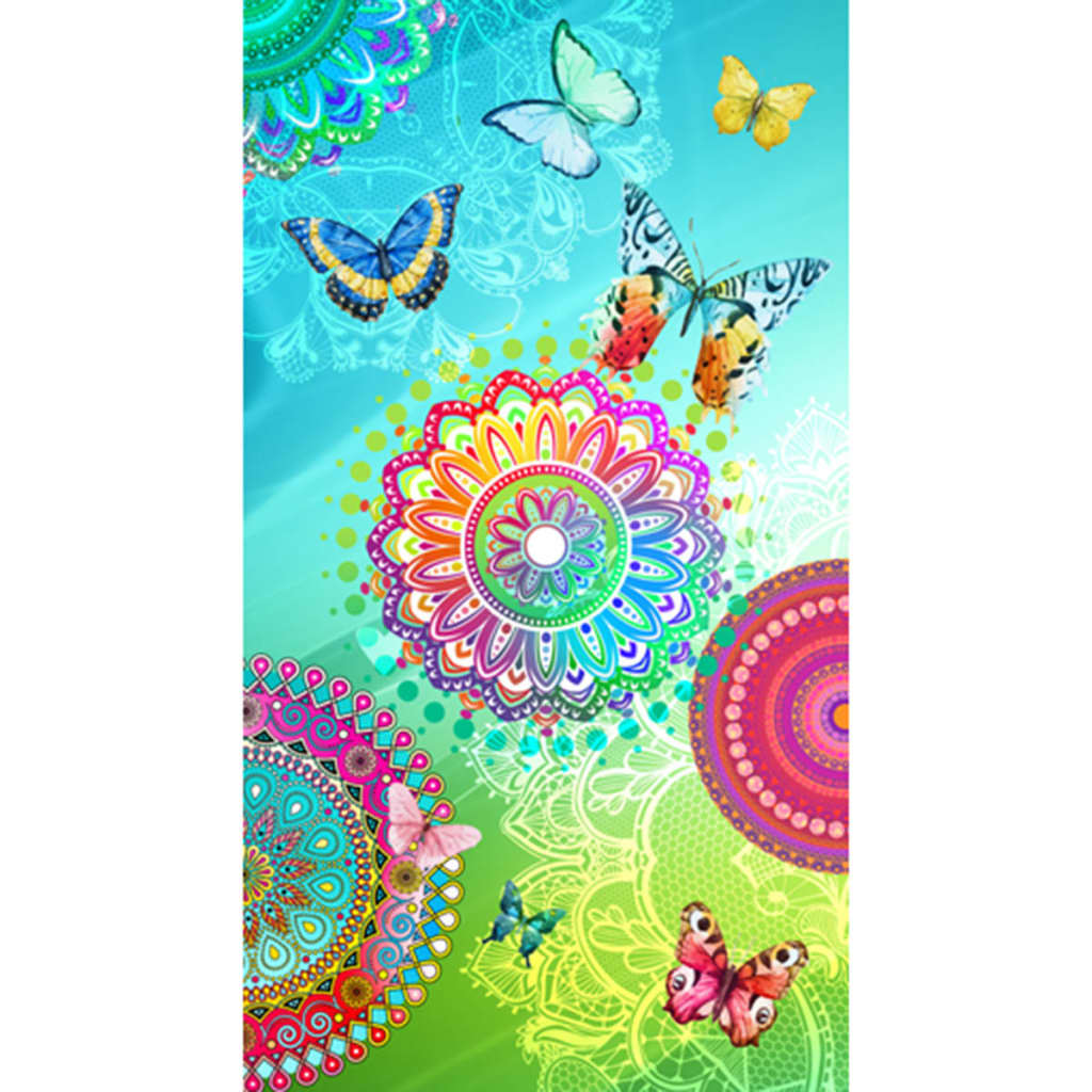 Afbeelding van HIP Strandlaken 5112-H Mystic 100x180 cm meerkleurig