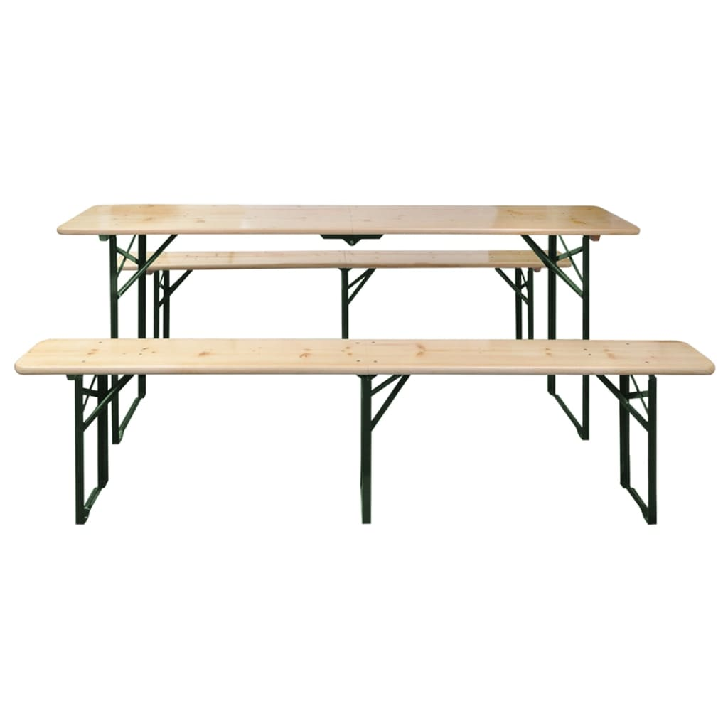 La boutique en ligne vidaxl ensemble de table et banc de - Ensemble table et banc ...