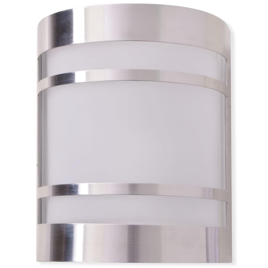 vidaXL-Outdoor-Wall-Light-Stainless-Steel-Garden-Patio-Lighting-Floodlight