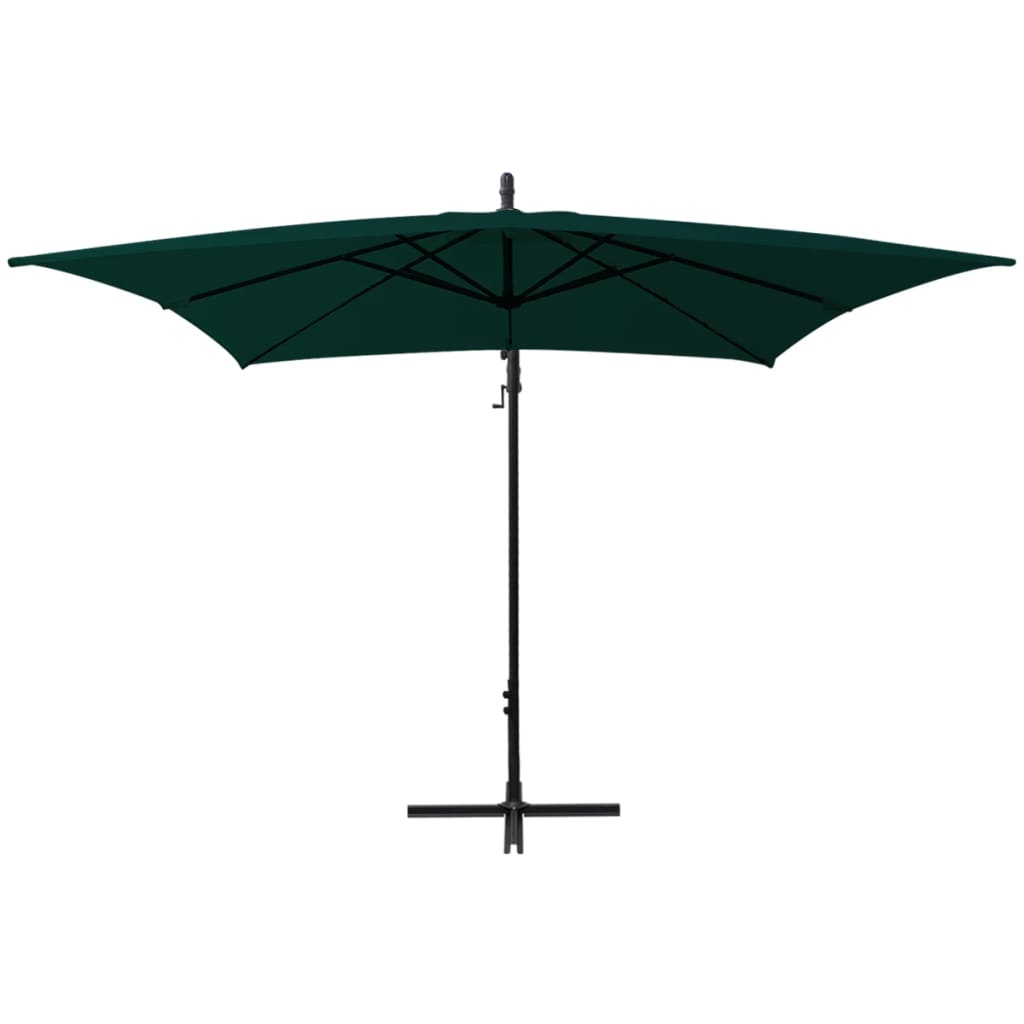 acheter vidaxl parapluie en porte faux banane vert 2 5x2 5 m pas cher. Black Bedroom Furniture Sets. Home Design Ideas