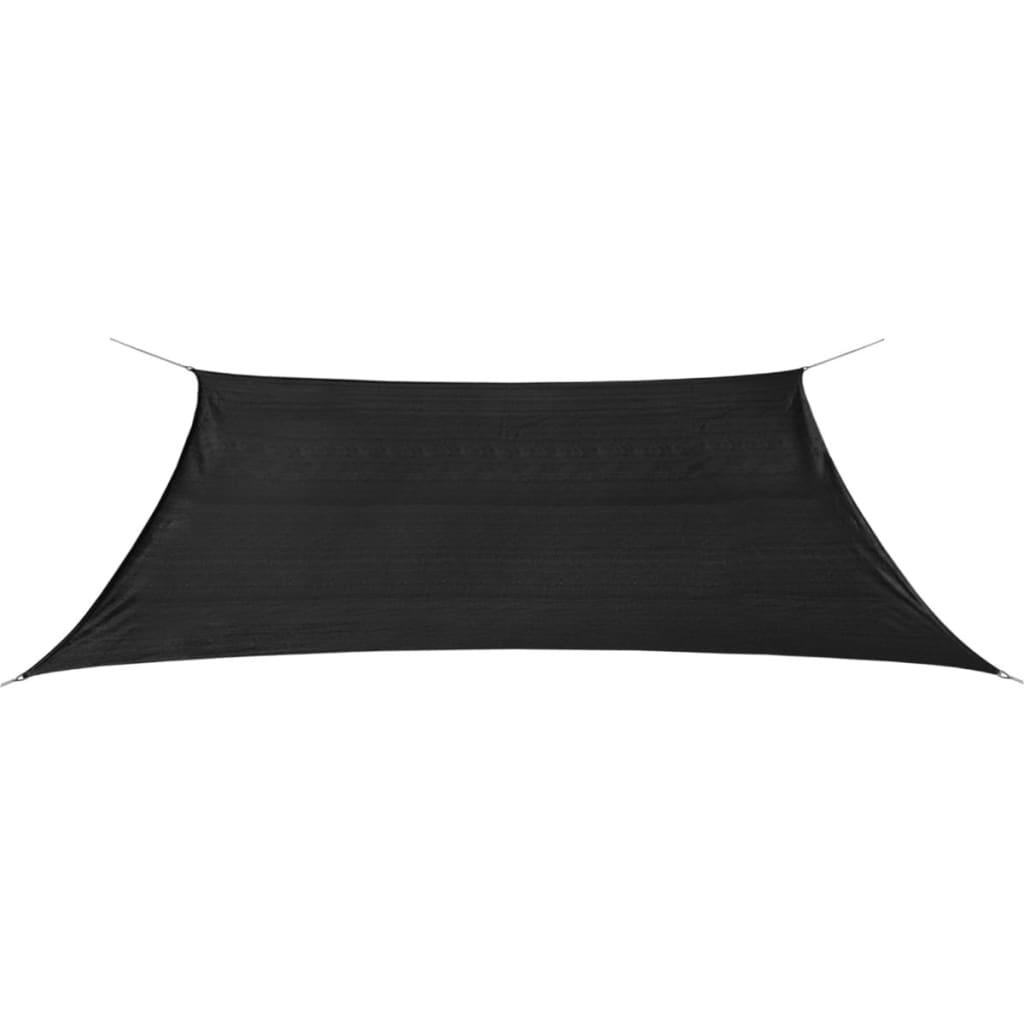 vidaXL 2x4 m négyszögletes antracit HDPE napernyő
