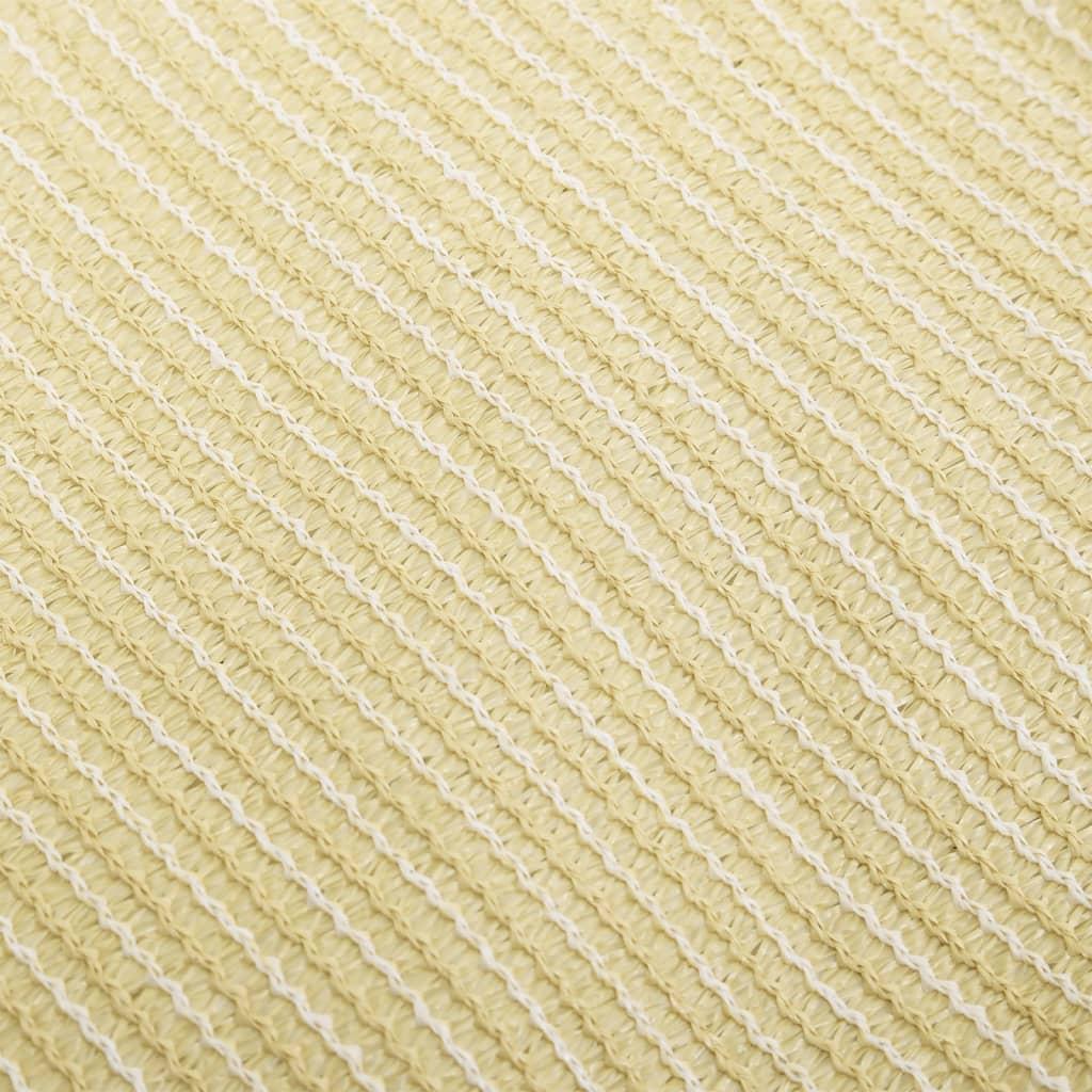 Vidaxl toldo de vela rectangular hdpe 2x4m beige - Toldo vela rectangular ...