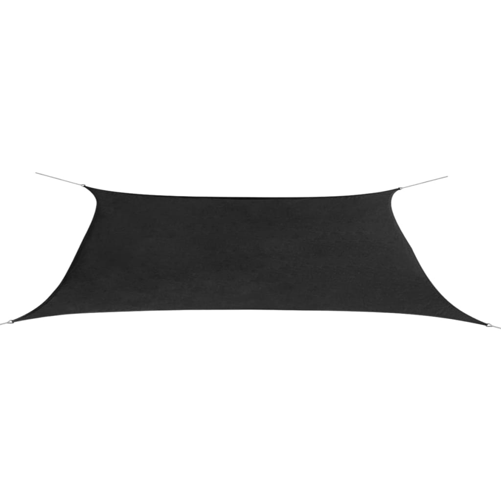 vidaXL Oxford szövet derékszögű napernyő 4x6 m antracit