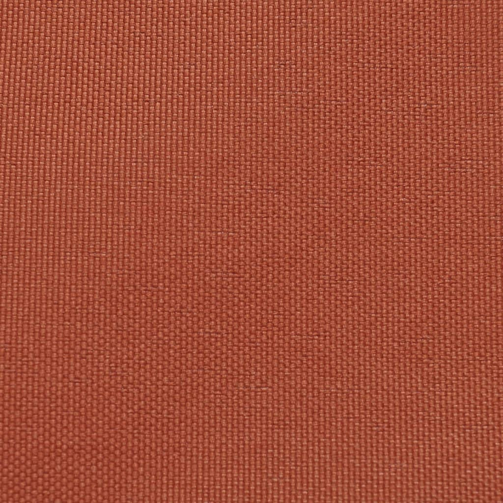 Vidaxl balcony screen oxford fabric 75x400 cm terracotta for Balcony screen