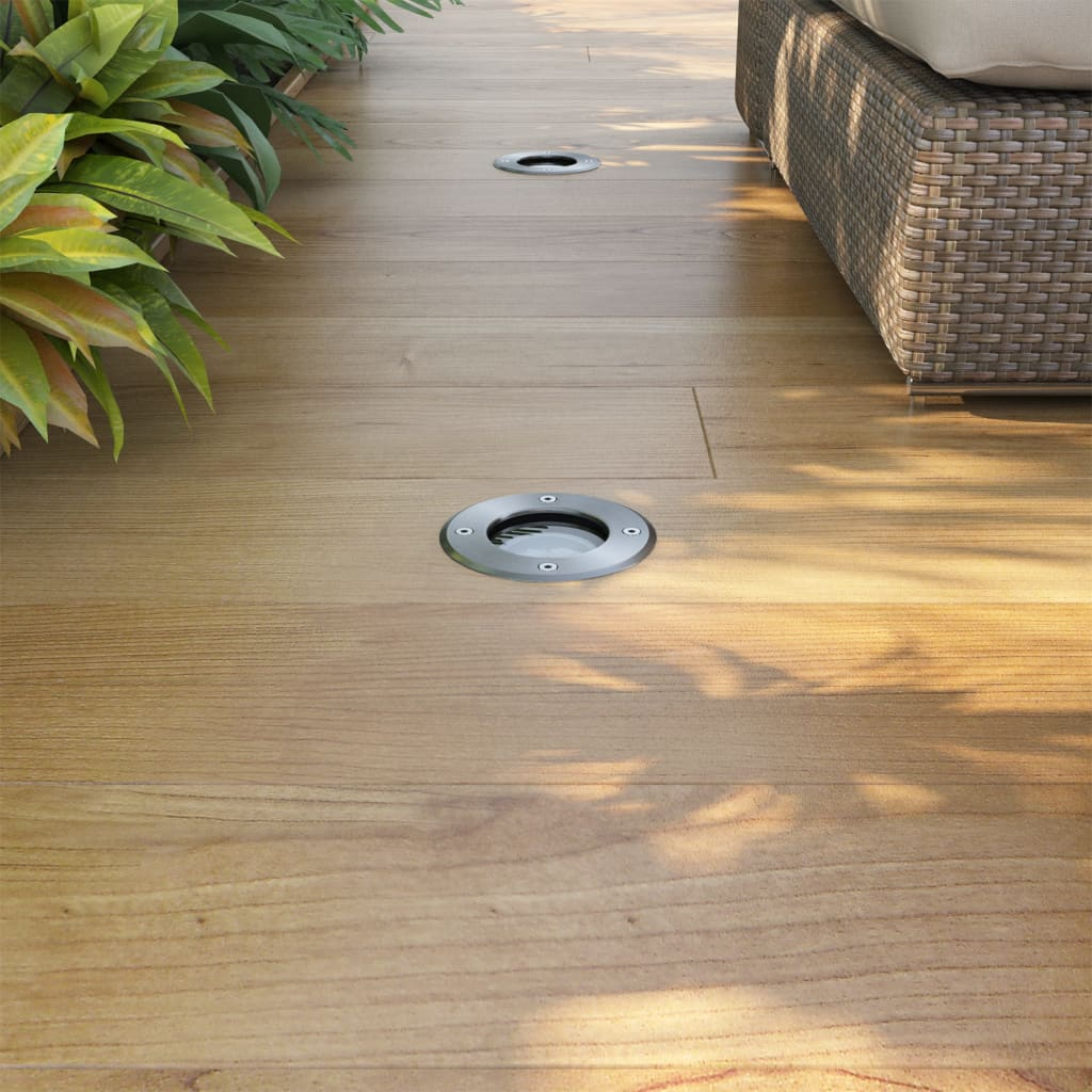 Vidaxl focos led empotrables de suelo para exteriores - Suelo para exteriores ...