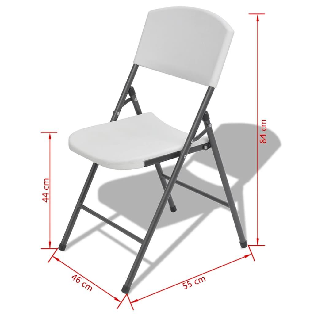 La boutique en ligne vidaxl chaises de jardin pliantes 4 for Chaises pliantes de jardin