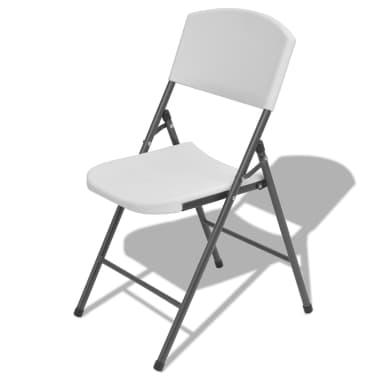 Articoli per vidaxl sedie da giardino pieghevoli 4 pz in - Sedie da giardino pieghevoli ...