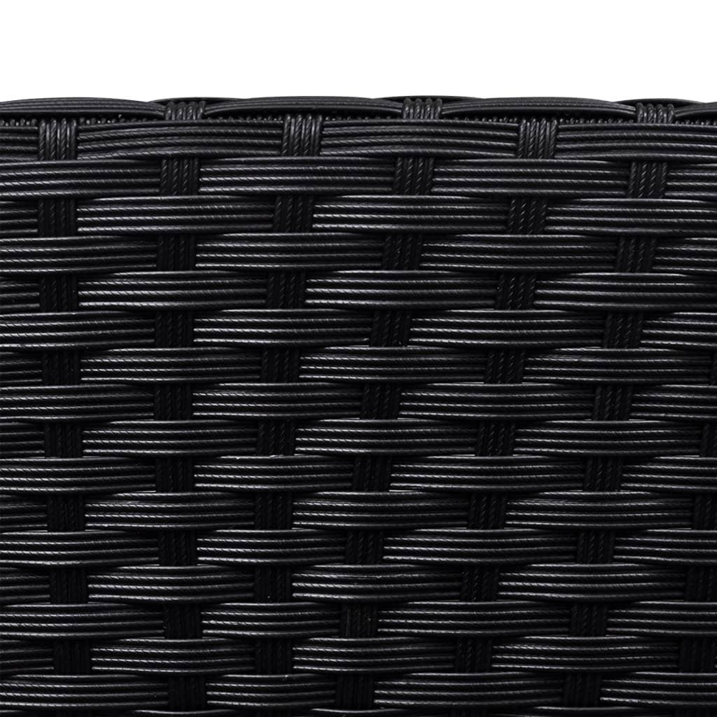 vidaxl sonnenliege wei poly rattan textilene g nstig kaufen. Black Bedroom Furniture Sets. Home Design Ideas