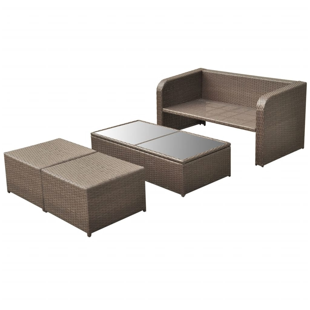 polyrattan box awesome luxo living elvita wicker sunbed set with luxo tolworth poly rattan. Black Bedroom Furniture Sets. Home Design Ideas