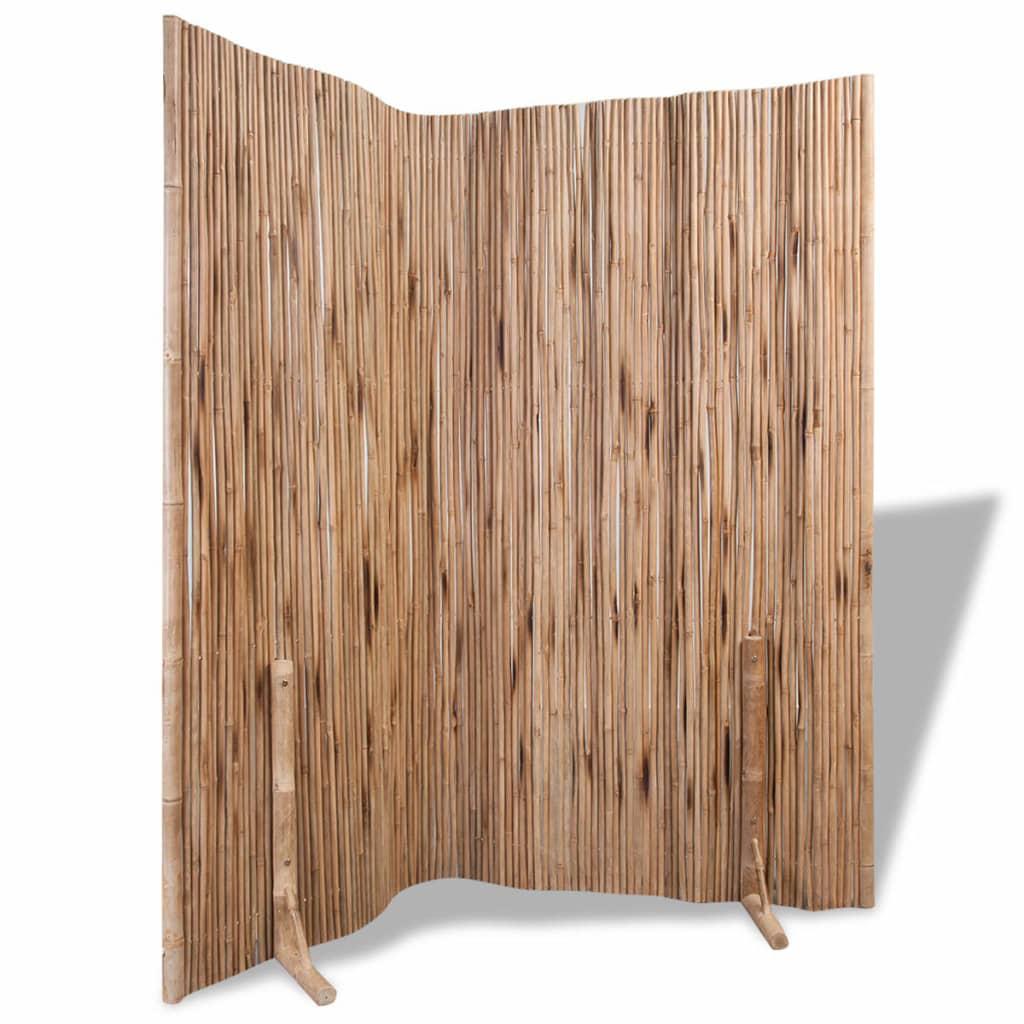 acheter vidaxl s parateur de pi ce panneau de cl ture bambou 180 x 180 cm pas cher. Black Bedroom Furniture Sets. Home Design Ideas