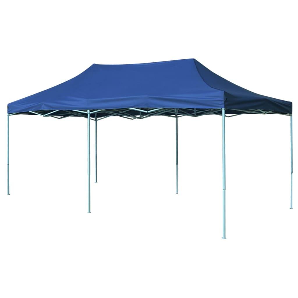vidaXL felállítható pavilon 3 x 6 m kék
