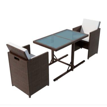 acheter vidaxl ensemble de mobilier de jardin 7 pcs rotin. Black Bedroom Furniture Sets. Home Design Ideas