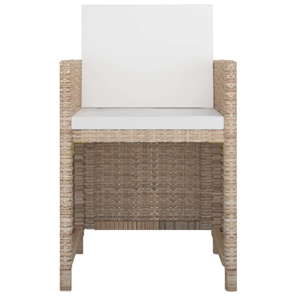 Vidaxl poly rotin ensemble mobilier de jardin 25 pcs gris for Ensemble mobilier salon