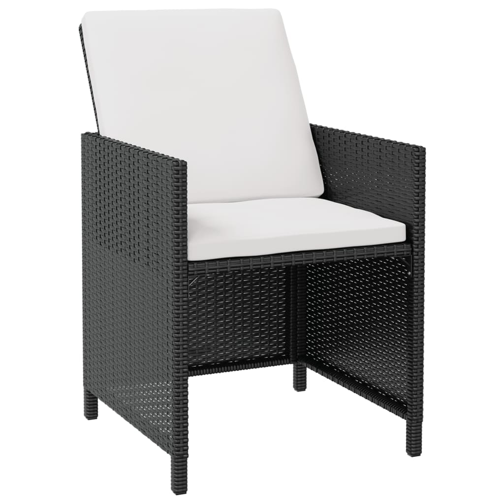 Vidaxl Outdoor Dining Set 31 Piece Wicker Poly Rattan