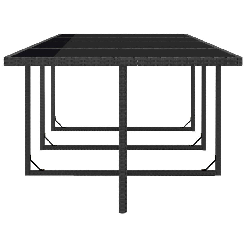 vidaxl poly rattan gartenm bel set 37tlg schwarz. Black Bedroom Furniture Sets. Home Design Ideas
