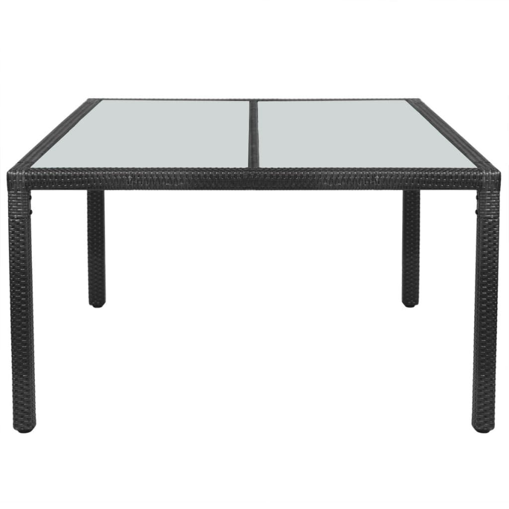 Acheter vidaxl table de jardin r sine tress e 150 x 90 x for Acheter table de jardin